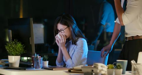 What is the risk of presenteeism in Hong Kong?