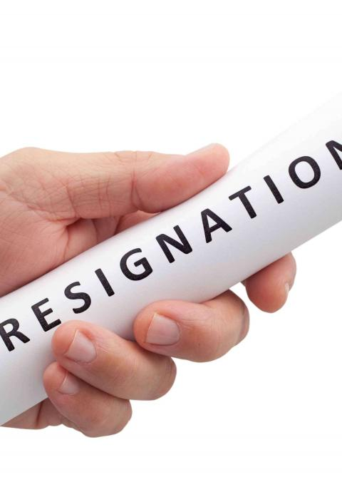 Resignation   Robert Half