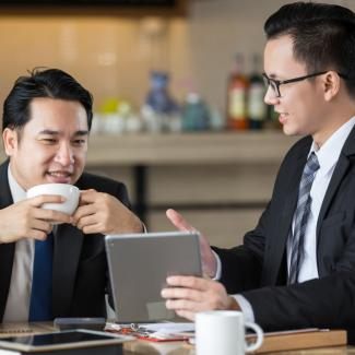 How reverse mentoring can be good for business