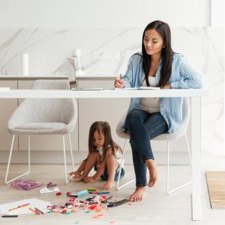 5 tips for working from home with kids